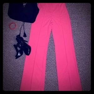 Fashion Nova, neon pink, pants
